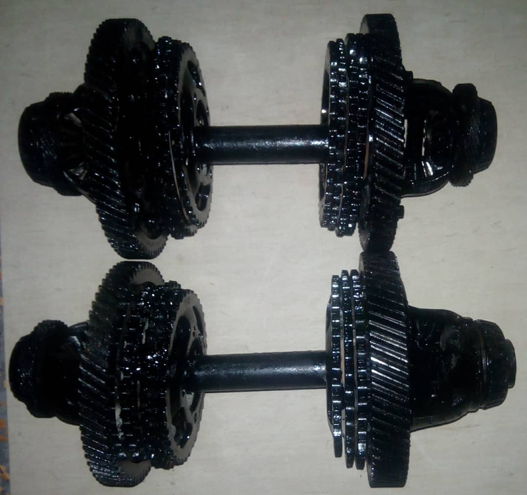 Fitness Interview with Malcolm - Dumbbell for sale