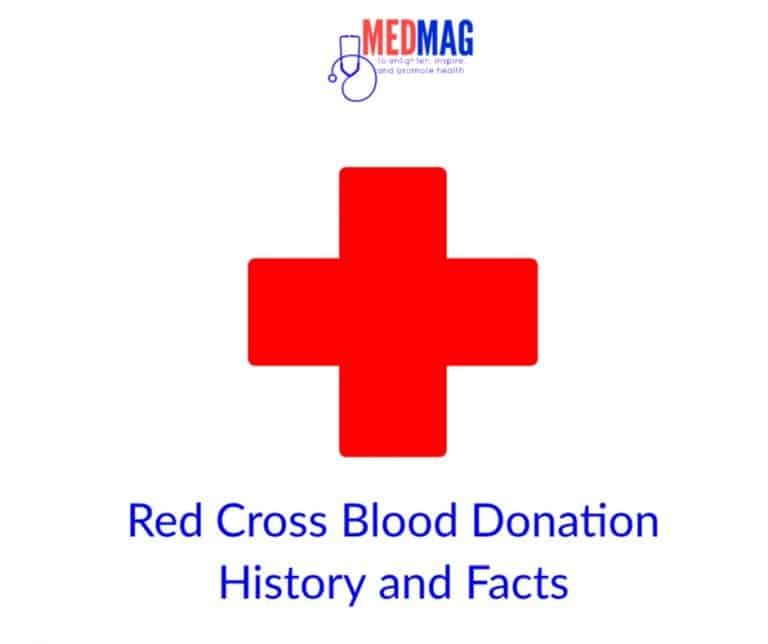 Red Cross blood donation history