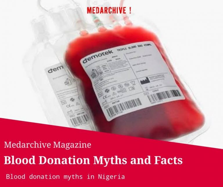 myths related to blood donation