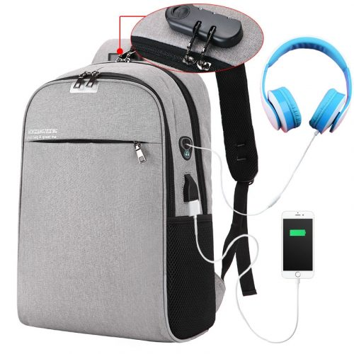 Backxpack anti theft backpack