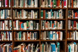 old medical textbooks library